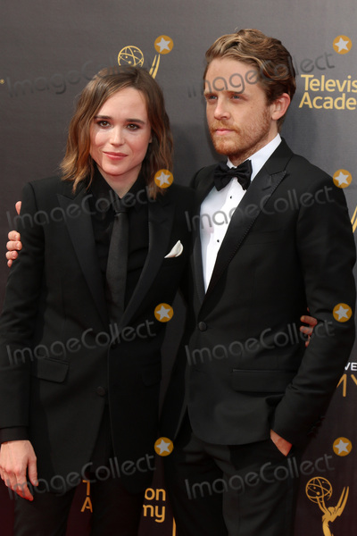Ellen Page Photo - LOS ANGELES - SEP 11  Ellen Page Ian Daniel at the 2016 Primetime Creative Emmy Awards - Day 2 - Arrivals at the Microsoft Theater on September 11 2016 in Los Angeles CA