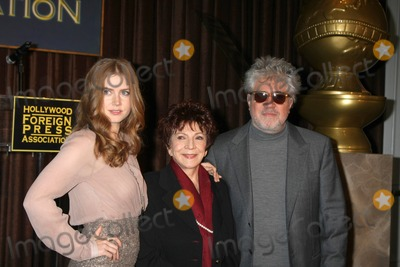 Cecil B DeMille Photo - LOS ANGELES - NOV 9  Amy Adams Aida Takla-OReilly Pedro Almodovar at the CECIL B DEMILLE AWARD Honoree Announcement at Beverly Hilton Hotel on November 9 2011 in Beverly Hills CA
