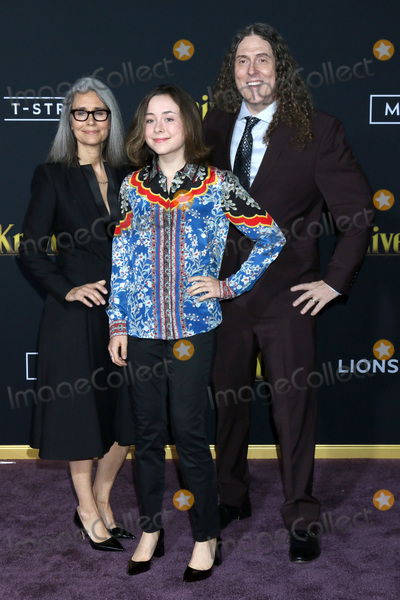 Al Yankovic Photo - LOS ANGELES - NOV 14  Wierd Al Yankovic wife daughter at the Knives Out Premiere at Village Theater on November 14 2019 in Westwood CA