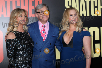 Amy Schumer Photo - LOS ANGELES - MAY 10  Goldie Hawn Paul Feig Amy Schumer at the Snatched World Premiere at the Village Theater on May 10 2017 in Westwood CA