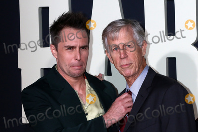 Sam Rockwell Photo - LOS ANGELES - OCT 15  Sam Rockwell Pete Rockwell at the Jojo Rabbit Premiere at the American Legion Post 43 on October 15 2019 in Los Angeles CA