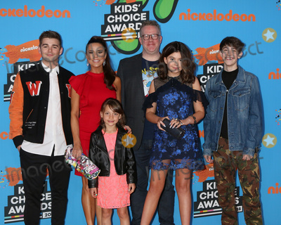 Addison Riecke Photo - LOS ANGELES - MAR 24  Jack Griffo Rosa Blasi Maya Le Clark Chris Tallman Addison Riecke Diego Velazquez at the 2018 Kids Choice Awards at Forum on March 24 2018 in Inglewood CA