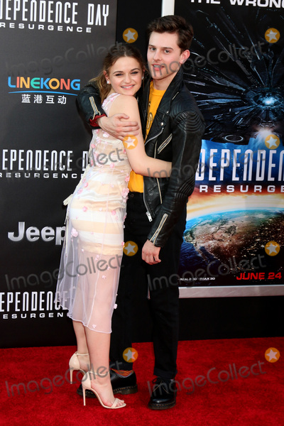 Travis Tope Photo - LOS ANGELES - JUN 20  Joey King Travis Tope at the Independence Day Resurgence LA Premiere at the TCL Chinese Theater IMAX on June 20 2016 in Los Angeles CA