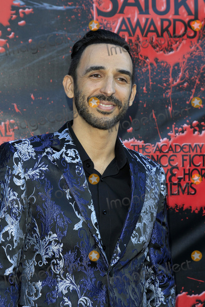 Amir Arison Photo - LOS ANGELES - JUN 27  Amir Arison at the Saturn Awards at the Castaways on June 27 2018 in Burbank CA