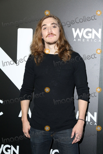 Kyle Gallner Photo - LOS ANGELES - DEC 13  Kyle Gallner at the WGN Americas Outsiders Photo-Op at Langham Hotel on December 13 2017 in Pasadena CA