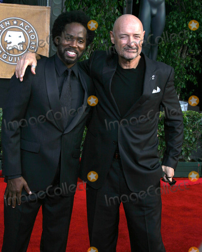 Terry Quinn Photo - Harold PerrineauTerry OQuinn12th Annual Screen Actors Guild  AwardsShrine AuditoriumLos Angeles CAJanuary 29 2006