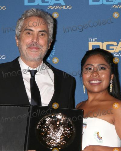 Alfonso Cuaron Photo - LOS ANGELES - FEB 2  Alfonso Cuaron Yalitza Aparicio at the 2019 Directors Guild of America Awards at the Dolby Ballroom on February 2 2019 in Los Angeles CA