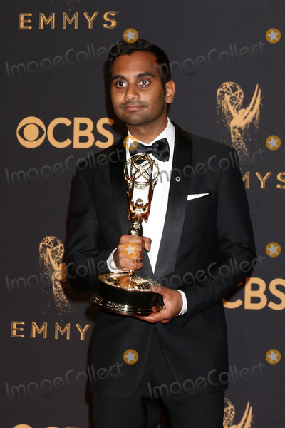 Aziz Ansari Photo - LOS ANGELES - SEP 17  Aziz Ansari at the 69th Primetime Emmy Awards - Press Room at the JW Marriott Gold Ballroom on September 17 2017 in Los Angeles CA