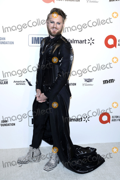 Bobby Berk Photo - LOS ANGELES - FEB 9  Bobby Berk at the 28th Elton John Aids Foundation Viewing Party at the West Hollywood Park on February 9 2020 in West Hollywood CA