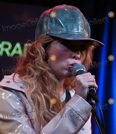 The Ting Tings Photo - BALA CYNWYD PA USA - APRIL 10 Katie White of British Indie Rock Duo The Ting Tings Performs at Mix 106s Performance Theatre on April 10 2015 in Bala Cynwyd Pennsylvania United States (Photo by Paul J FroggattFamousPix)
