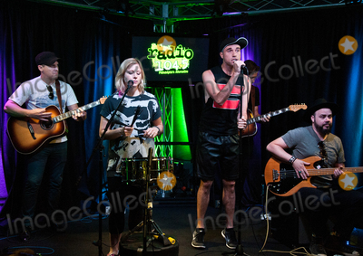 Neon Trees Photo - BALA CYNWYD PA USA - JULY 21 American Alternative Rock Band Neon Trees Perform at Radio 1045s Performance Theatre on July 21 2015 in Bala Cynwyd Pennsylvania United States (Photo by Paul J FroggattFamousPix)