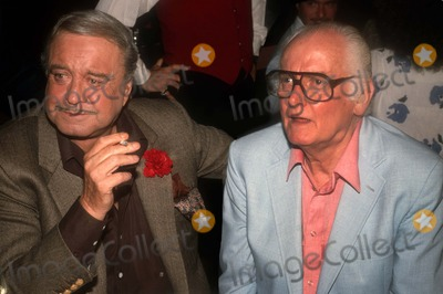 Art Carney Photo - Jackie Gleason Art Carney3859JPG1982 FILE PHOTONew York NYJackie Gleason Art CarneyPeter Paul  MaryPhoto by Adam Scull-PHOTOlinknet