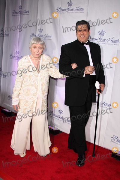 Celeste Holm Photo - NYC  101508Celeste Holm and husbandPrincess Grace Foundation-USA Princess Grace Awards Gala at Cipriani 42nd StreetDigital Photo by Natalie Foster-PHOTOlinknet