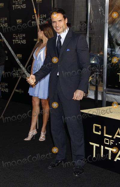Antonio Sabato Jr Photo - Los Angeles CA 3-31-2010Cheryl Moana Marie Antonio Sabato JrClash of the Titans premierePhoto by Nick Sherwood-PHOTOlinknet