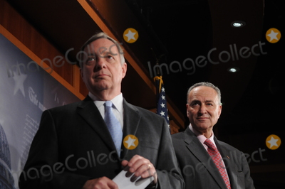 Harry Reid Photo - Washington DC 4222010Capitol Hill press conference(left) Sen Dick Durbin (D-IL) (right) Sen Charles Schumer (D-NY) and Sen Harry Reid (D-NV)  held a press conference on Wall Street accountability at the US Capitol Digital photo by Elisa Miller-PHOTOlinknet
