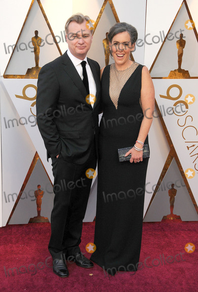 Christopher Nolan Photo - Photo by GalaxystarmaxinccomSTAR MAXCopyright 2018ALL RIGHTS RESERVEDTelephoneFax (212) 995-11963418Christopher Nolan and Emma Thomas at the 90th Annual Academy Awards (Oscars) presented by the Academy of Motion Picture Arts and Sciences(Hollywood CA USA)