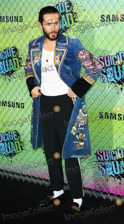 Jared Leto Photo - Photo by Patricia SchleinstarmaxinccomSTAR MAX2016ALL RIGHTS RESERVEDTelephoneFax (212) 995-11968116Jared Leto at the premiere of Suicide Squad(NYC)