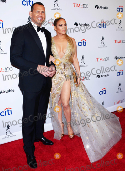 Alex Rodriguez Photo - Photo by Patricia SchleinstarmaxinccomSTAR MAX2018ALL RIGHTS RESERVEDTelephoneFax (212) 995-119642418Jennifer Lopez and Alex Rodriguez at the TIME 100 Most Influential People in The World Gala in New York City