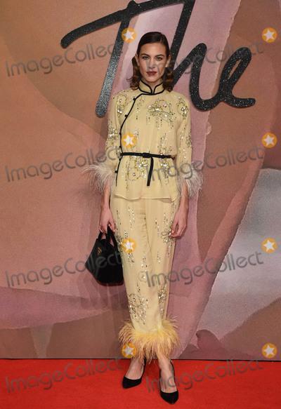 Alexa Chung Photo - Photo by KGC-03starmaxinccomSTAR MAXCopyright 2016ALL RIGHTS RESERVEDTelephoneFax (212) 995-119612516Alexa Chung at The 2016 Fashion Awards(Royal Albert Hall London England UK)