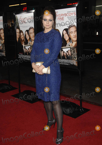 Samantha Morton Photo - Photo by Michael Germanastarmaxinccom200911309Samantha Morton at the premiere of Everybodys Fine(Hollywood CA)