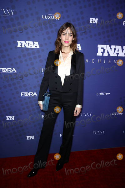 Alexa Chung Photo - Photo by John NacionstarmaxinccomSTAR MAX2017ALL RIGHTS RESERVEDTelephoneFax (212) 995-1196112817Alexa Chung at the 31st FN Achievement Awards in New York City