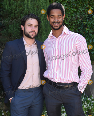 Alfred Enoch Photo - Photo by KGC-11starmaxinccomSTAR MAXCopyright 2016ALL RIGHTS RESERVEDTelephoneFax (212) 995-119692516Jack Falahee and Alfred Enoch at The Rape Foundations Annual Brunch(Beverly Hills CA)