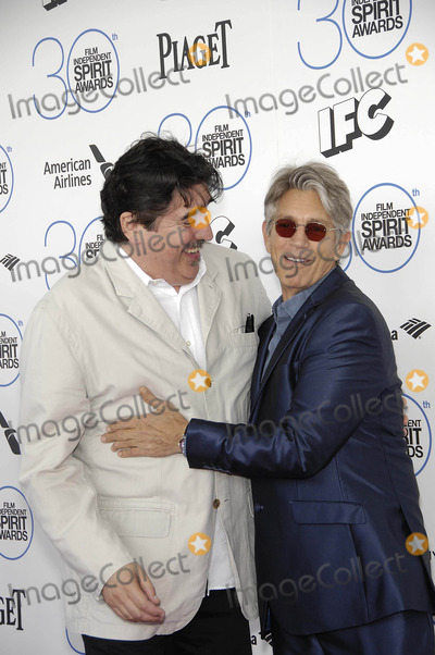 Alfred Molina Photo - Photo by Michael GermanastarmaxinccomSTAR MAX2015ALL RIGHTS RESERVEDTelephoneFax (212) 995-119622115Alfred Molina and Eric Roberts at the 2015 Film Independent Spirit Awards(Santa Monica CA)