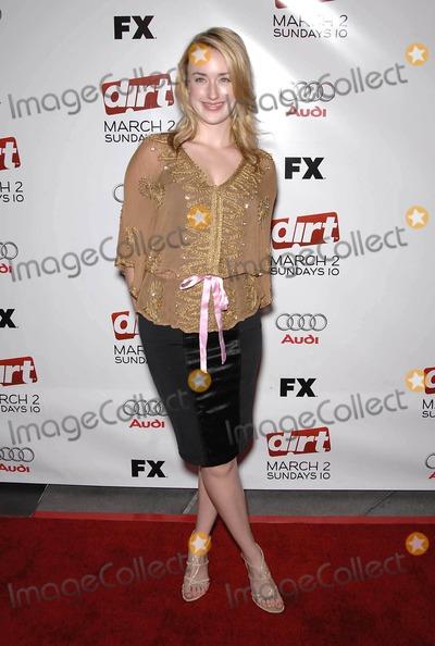 Ashley Johnson Photo - Photo by Michael Germanastarmaxinccom200822808Ashley Johnson at the premiere of Dirt(Los Angeles CA)