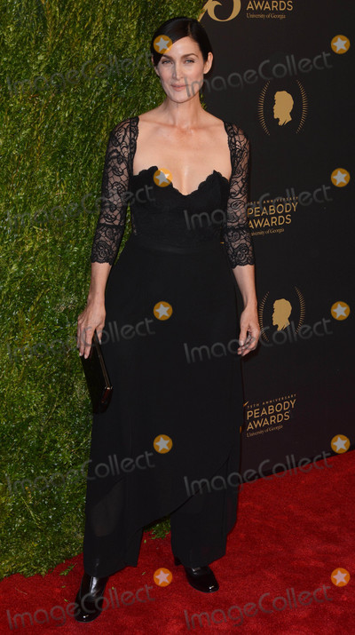 Carrie-Anne Moss Photo - Photo by Patricia SchleinstarmaxinccomSTAR MAX2016ALL RIGHTS RESERVEDTelephoneFax (212) 995-119652116Carrie Anne Moss at The 75th Annual Peabody Awards(NYC)