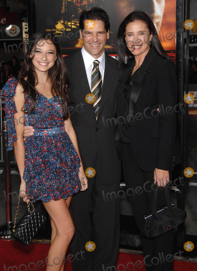 Chris Ciaffa Photo - Photo by Michael Germanastarmaxinccom2010102610Lucy Ciaffa Chris Ciaffa and Mimi Rogers at the premiere of Unstoppable(Westwood CA)