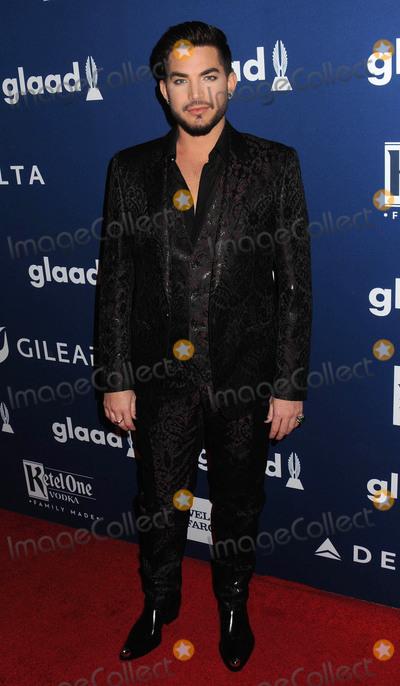 Adam Lambert Photo - Photo by zzDemis MaryannakisstarmaxinccomSTAR MAXCopyright 2018ALL RIGHTS RESERVEDTelephoneFax (212) 995-11965518Adam Lambert at The 29th Annual GLAAD Media Awards in New York City(NYC)