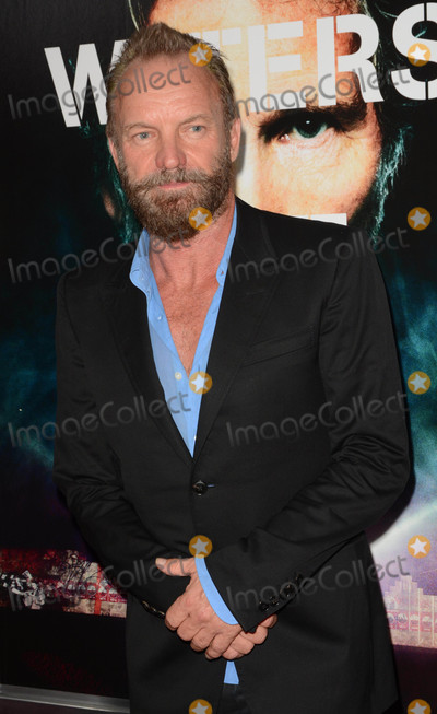 Sting Photo - Photo by Patricia SchleinstarmaxinccomSTAR MAX2015ALL RIGHTS RESERVEDTelephoneFax (212) 995-119692815Sting at the premiere of Roger Waters The Wall(NYC)