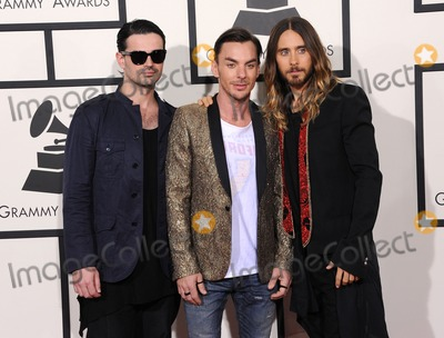 30 Seconds to Mars Photo - Photo by KGC-11starmaxinccom2014ALL RIGHTS RESERVEDTelephoneFax (212) 995-119612614Jared Leto with 30 Seconds to Mars at The 56th Annual Grammy Awards(Los Angeles CA)