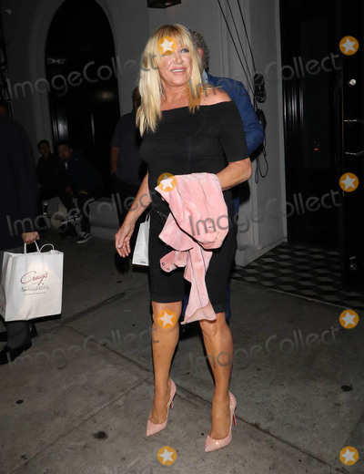 Alan Hamel Photo - Photo by gotpapstarmaxinccomSTAR MAXCopyright 2018ALL RIGHTS RESERVEDTelephoneFax (212) 995-119691718Suzanne Somers and Alan Hamel are seen at Craigs Restaurant in West Hollywood Los Angeles CA