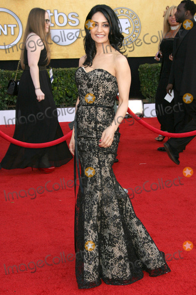 Archie Panjabi Photo - Photo by Quasarstarmaxinccom201113011Archie Panjabi at the Screen Actors Guild (SAG) Awards(Los AngelesCA)Not for syndication in Germany