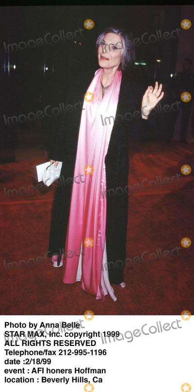 Anne Bancroft Photo - Photo by Anna BelleSTAR MAX Inc - copyright 1999Anne Bancroft