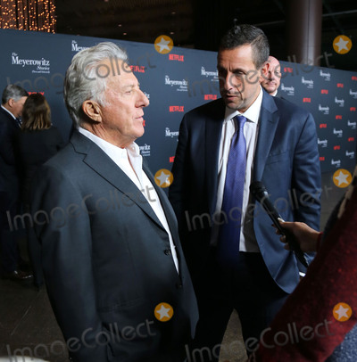 Adam Sandler Photo - Photo by gotpapstarmaxinccomSTAR MAXCopyright 2017ALL RIGHTS RESERVEDTelephoneFax (212) 995-1196101117Dustin Hoffman and Adam Sandler at a screening of The Meyerowitz Stories(Los Angeles CA)