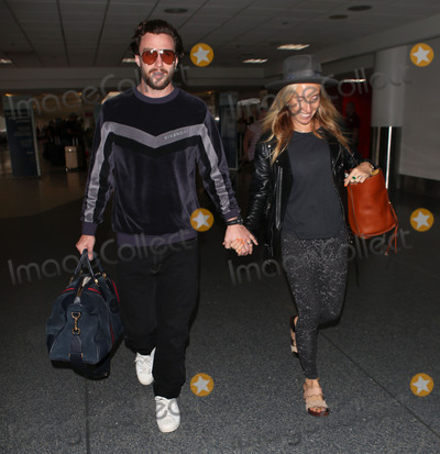 Aaron Taylor-Johnson Photo - Photo by SMXRFstarmaxinccomSTAR MAXCopyright 2018ALL RIGHTS RESERVEDTelephoneFax (212) 995-11969518Aaron Taylor-Johnson and Sam Taylor-Johnson are seen at Los Angeles International Airport (LAX) in Los Angeles CA