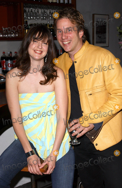 John Livesay Photo - Photo by Lee Rothstarmaxinccom200441304Holly Long and John Livesay at the pre-release listening party for Every Little Seam(West Hollywood CA)