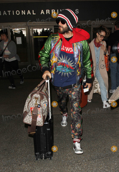 Jared Leto Photo - Photo by gotpapstarmaxinccomSTAR MAX2017ALL RIGHTS RESERVEDTelephoneFax (212) 995-119622317Jared Leto is seen at LAX Airport in Los Angeles CA