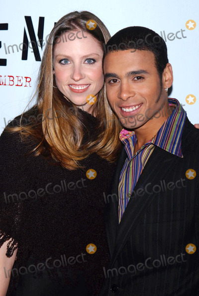 Wilson Jermaine Heredia Photo - Photo by Walter Weissmanstarmaxinccom2005111705Wilson Jermaine Heredia and date at the premiere of Rent(NYC)
