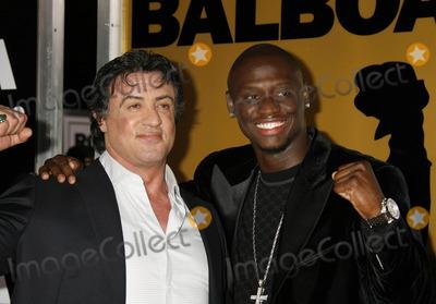 Antonio Tarver Photo - Photo by REWestcomstarmaxinccom2006121306Sylvester Stallone and Antonio Tarver at the premiere of Rocky Balboa(Hollywood CA)