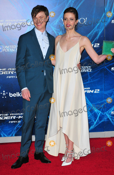 Anna Wood Photo - Photo by Patricia Schleinstarmaxinccom2014ALL RIGHTS RESERVEDTelephoneFax (212) 995-119642414Anna Wood and Dane Dehaan at the premiere of The Amazing Spider-Man 2(NYC)