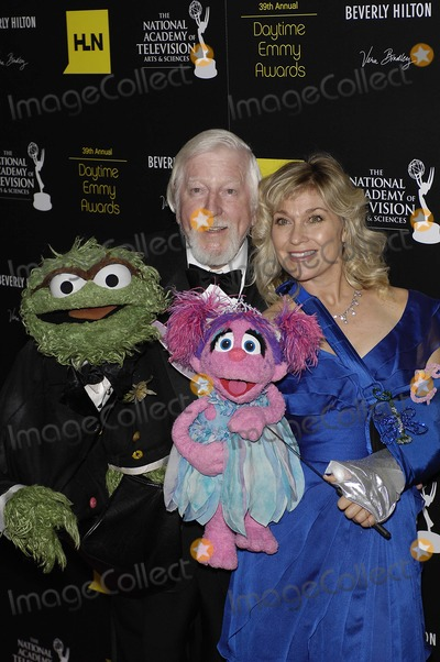 Caroll Spinney Photo - Oscar the Grouch Caroll Spinney Leslie Carrara and Abby Cadabby during the 39th Annual Daytime Emmy Awards held at the Beverly Hilton Hotel on June 23 2012 in Beverly Hills CaliforniaPhoto Michael Germana Star Max