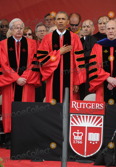 President Obama Photo - Photo by Dennis Van TinestarmaxinccomSTAR MAX2016ALL RIGHTS RESERVEDTelephoneFax (212) 995-119651516President Obama at a commencement ceremony at Rutgers University(Piscataway NJ)