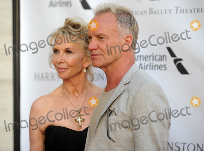 Trudie Styler Photo - Photo by Dennis Van TinestarmaxinccomSTAR MAX2018ALL RIGHTS RESERVEDTelephoneFax (212) 995-119652118Sting and Trudie Styler at The 2018 American Ballet Theatre Spring Gala in New York City