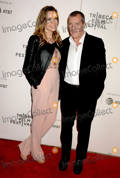 Antonio Banderas Photo - Photo by Dennis Van TinestarmaxinccomSTAR MAX2018ALL RIGHTS RESERVEDTelephoneFax (212) 995-119642018Antonio Banderas and Nicole Kempel at the premiere of Genius Picasso at The Tribeca Film Festival in New York City