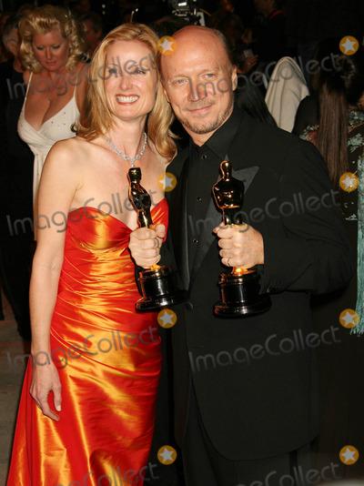 Deborah Rennard Photo - Photo by NPXstarmaxinccom20063506Paul Haggis and Deborah Rennard at the Vanity Fair Oscar Party(West Hollywood CA)