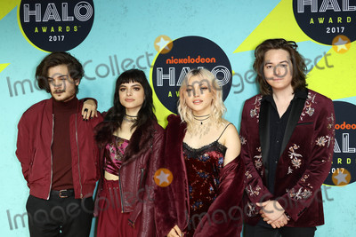 Hey Violet Photo - Photo by John NacionstarmaxinccomSTAR MAX2017ALL RIGHTS RESERVEDTelephoneFax (212) 995-119611417Rena Lovelis Nia Lovelis Casey Moreta and Iain Shipp of Hey Violet at The 2017 Nickelodeon Halo Awards in New York City