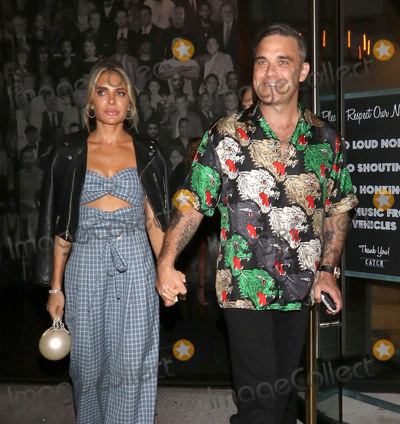 Ayda Fields Photo - Photo by gotpapstarmaxinccomSTAR MAXCopyright 2018ALL RIGHTS RESERVEDTelephoneFax (212) 995-119691418Robbie Williams and Ayda Field are seen outside Catch Seafood Restaurant in West Hollywood Los Angeles CA